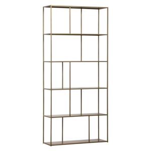 Biblioteca din metal Valued Cabinet Metal Antique Brass