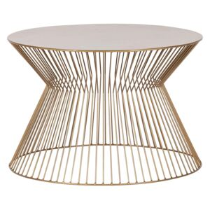 Masuta de cafea din metal Ø60cm Suus Coffee Table Gold | WOOOD