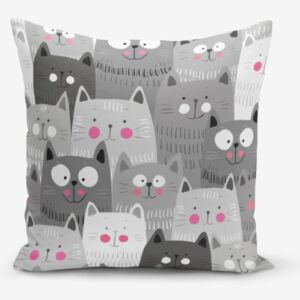 Față de pernă Minimalist Cushion Covers Catty, 45 x 45 cm