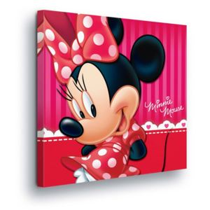 GLIX Tablou - Disney Minnie Mouse in Red III 80x80 cm