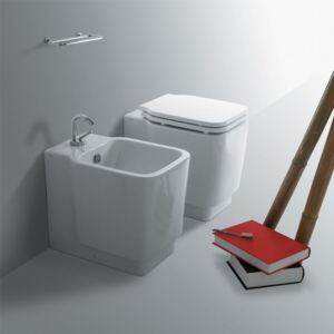 Vas WC Back to wall WC and Bidet Simas Flow