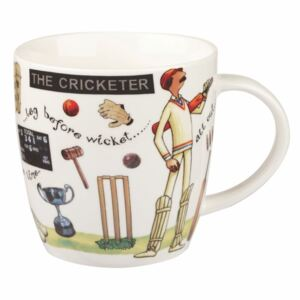 Cană din porțelan Churchill China At Your Leisure The Cricketer, 400 ml