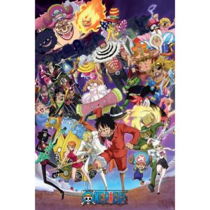 One Piece - Big Mom saga Poster, (61 x 91,5 cm)