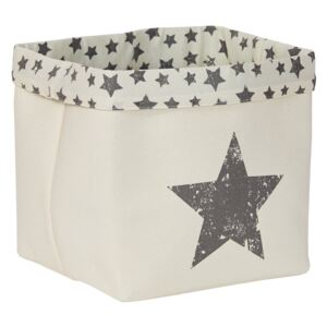 Cos alb - Black Star 30x30x30 cm