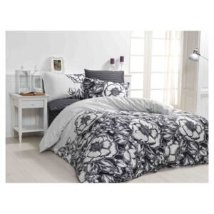 Lenjerie de pat satin de lux, Class Home Collection, Marjorie V2 Black