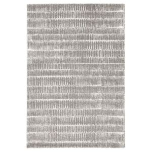 Covor gri Mint Rugs Lines, 80 x 150 cm