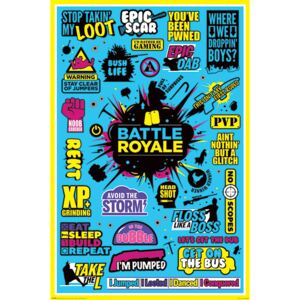 Battle Royale - Infographic Poster, (61 x 91,5 cm)