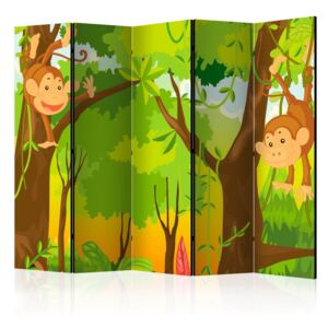 Bimago Paravan - Jungle - Monkeys 225x172 cm