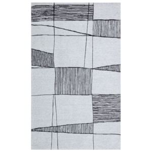 Covor Maze Home PALMA, Grey Black, 80 x 150 cm