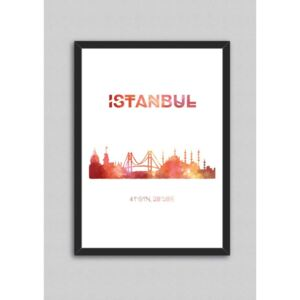 Tablou North Carolina Scandinavian Home Decors Istanbul, 33 x 43 cm