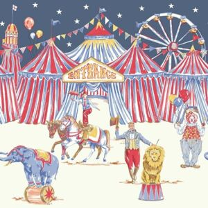 Arthouse Tapet - Frieze Frieze Circus Fun BDR