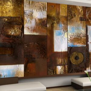 Tapet Bimago - Abstract: Winter Landscape + Adeziv gratuit rulou 50x1000 cm
