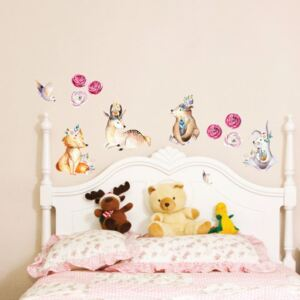 Autocolant de perete Ambiance Cute Forest Animals