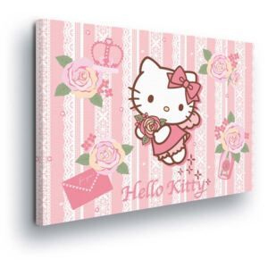 GLIX Tablou - Romantic Hello Kitty II 60x40 cm