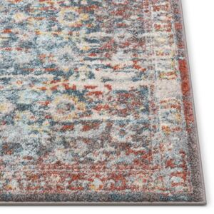 Covor Sydney Lyric Distressed, albastru, 160 x 220 cm