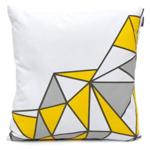 Față de pernă Domarex Yellow Space Love SEMI, 45 x 45 cm