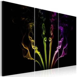 Tablou Bimago - Multicolored streaks 60x40 cm