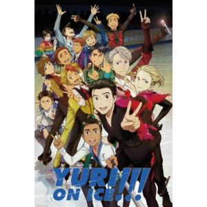 Yuri On Ice - Characters Poster, (61 x 91,5 cm)