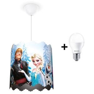 Philips 71751/01/16 - Lustră copii LED DISNEY FROZEN 1xE27/6W/230V