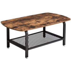 Masa living Industrial Design Tea Table 110 x 60 x 45 cm (L x l x l)