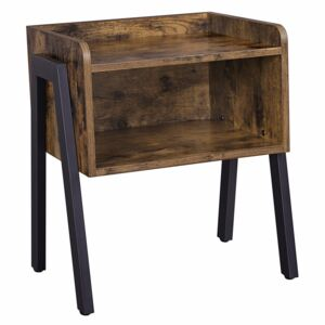 Noptiera Retro Rustic Chic Wood Look
