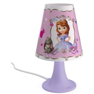 Philips 71795/96/16 - Lampă copii LED DISNEY SOFIA 1xLED/2,3W/230V