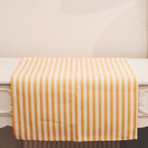 Runner Chic Yellow din bumbac 40x140 cm