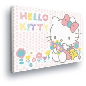 GLIX Tablou - Cheerful Hello Kitty 60x40 cm