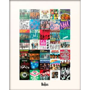 The Beatles - Singles Reproducere, (30 x 40 cm)