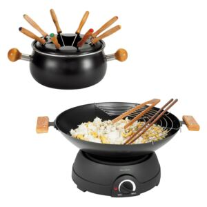 Wok electric si fondue 2 in 1 DomoClip DOM194