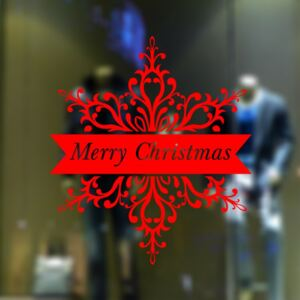 Sticker tematic Craciun - Merry Christmas