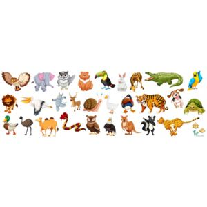 Sticker Animale - 30x90 cm