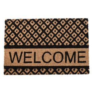 Covoras usa Welcome Beige - Black