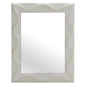 Oglinda de perete Antique White-Gold 75 cm