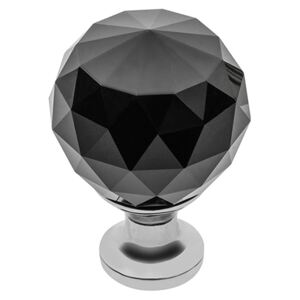 Buton Crystal Palace D 40 mm Black