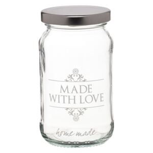Borcan cu capac Kitchen Craft Made with Love, 454 ml