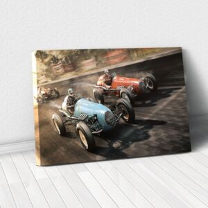 Tablou Canvas - Nascar Retro