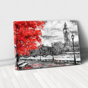 Tablou Canvas - Autumn in London