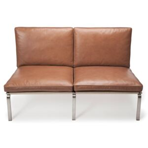 Canapea fixa NORR11 Man Two Seater Vintage Leather