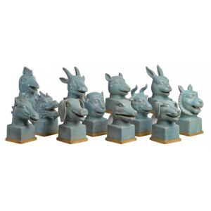Set 12 decoratiuni din ceramica Animal Pols Potten