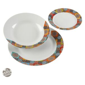 Set de masa 18 piese din portelan Topkapi Dishes Versa Home