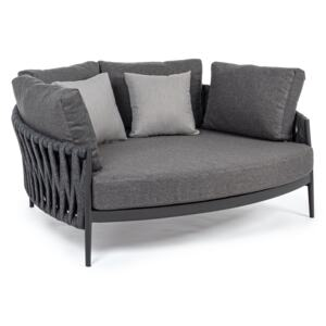 Canapea/pat exterior Rafael Charcoal Daybed