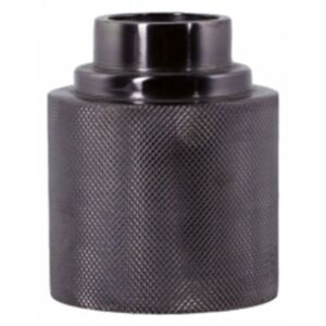 Suport lumanare negru din metal 10 cm Alessa Small LifeStyle Home Collection