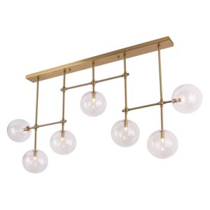 Candelabru gold din metal si sticla Lollipop MAXLIGHT