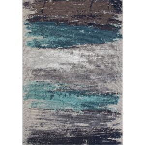 Covor Eco Rugs Aqua Abstract, 80 x 150 cm