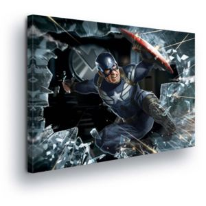 GLIX Tablou - Marvel Captain America 100x75 cm