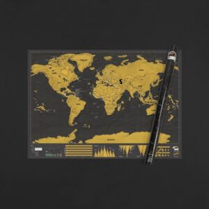 Scratch Map World Deluxe Edition XL