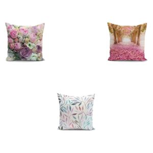 Set 3 fețe de pernă Minimalist Cushion Covers Mesmia, 45 x 45 cm