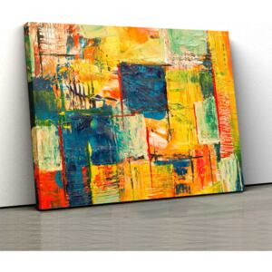 Tablou Canvas - Abstract Paint 1 - 30x50cm (80,00 Lei)