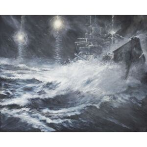 Surprised By Starshell Scharnhorst at North Cape, 2008, Reproducere, Vincent Alexander Booth
